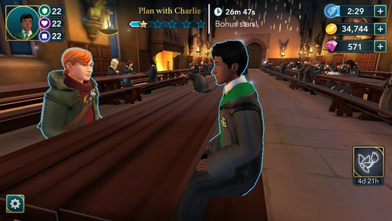 Part 3 4 Of The Animagus Activity Nearly There Hogwarts Mystery Electrical Storm Hogwarts