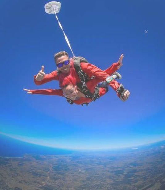 Byron Bay Tandem Skydive Byron Bay Australia Getyourguide Skydiving Whitewater Kayaking Skydiving Experience