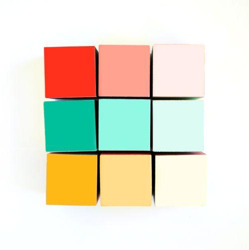DIY gradient blocks