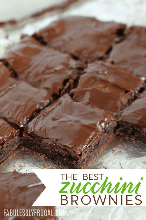 Best Chocolate Zucchini Brownies