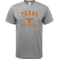 Texas Longhorns Sport Grey Volleyball Arch T-Shirt $17.99 http://shop.texassports.com/Texas-Longhorns-Sport-Grey-Volleyball-Arch-T-Shirt-_671485212_PD.html?social=pinterest_pfid74-12104