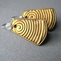 Stunning Contemporary Polymer Clay Jewelry by Roberta Warshaw ~ The Beading Gem's Journal