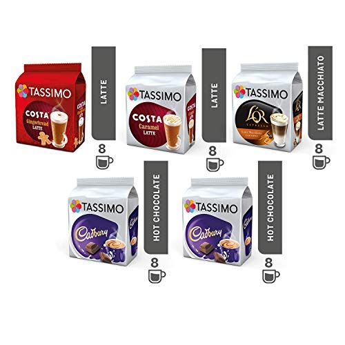 Tassimo Coffeechoco Bundle Costa Gingerbread Latte