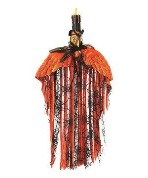 Look at this #zulilyfind! Velvet Owl Décor by Regency International #zulilyfinds