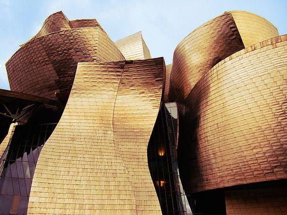 Guggenheim Museum - Bilbao, Spain by LondonshotsUK, via Flickr
