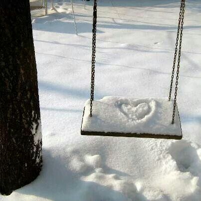 I love you. Yes, in winter too...:
