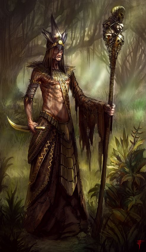 Shaman by JandrewArt.deviantart.com on @DeviantArt