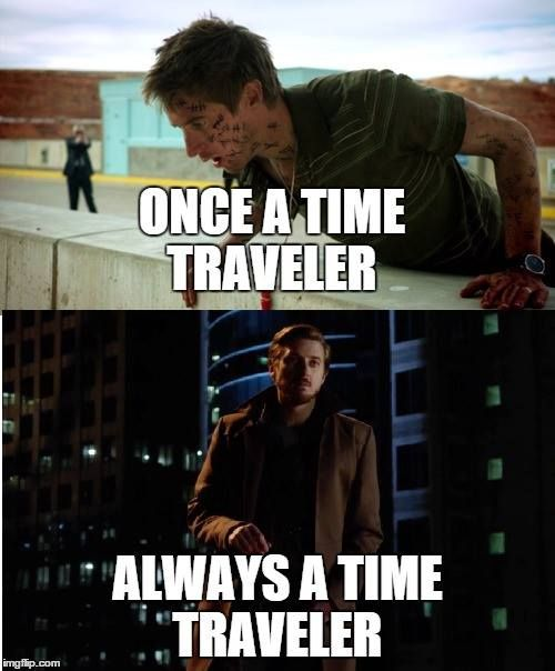 Doctor who / Legends of Tomorrow cross over