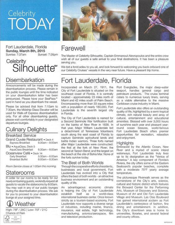 BEAUTIFUL SILHOUETTE - East Caribbean - Photo Video Trip Report 3 - trip report sample