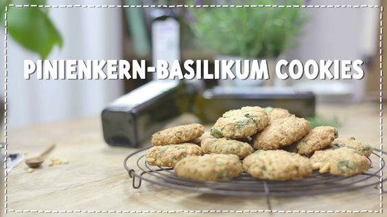 Geniale Pinienkern-Basilikum-Cookies