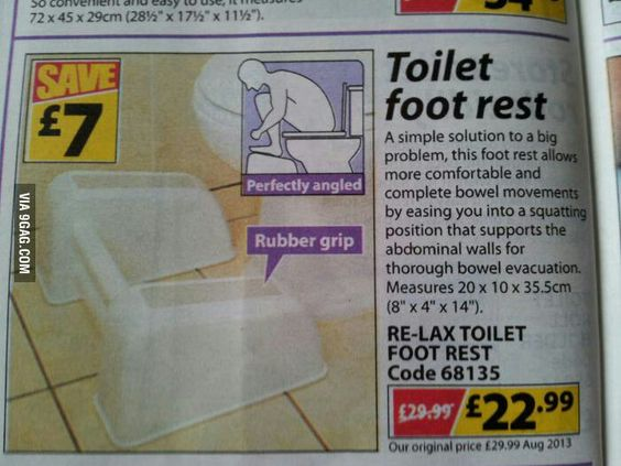 It is a better position to poo. Scientist have proven it. Thay studdy all kinds of weard stuff.