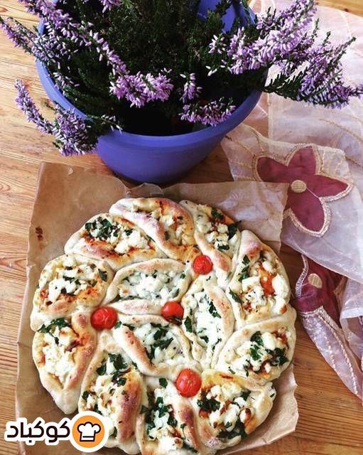 فطاير بالجبنة المنزلية بالصور من Shahinaz Bilal Recipe Food Vegetable Pizza Vegetables