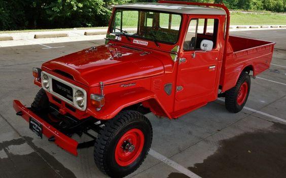 1978-Toyota-Land-Cruiser-HJ45-Pickup-frame-off-restoration-red-dallas-motorsports-mint-c | Land Cruiser Of The Day!