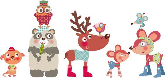 Decohappy |Vinilos infantiles|Decoración infantil| | ilustraciones ...