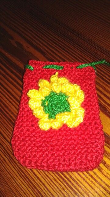 funda movil crochet