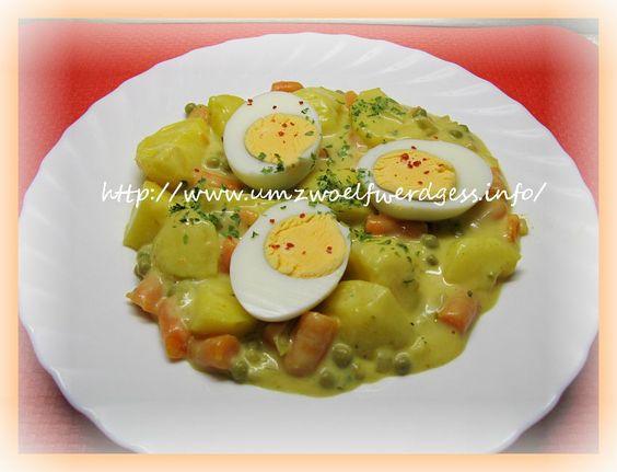 Kartoffel - Ei - Curry