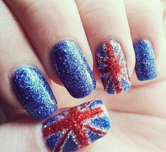 One Direction nail art: Jack Nail, British Nail, Nail Design, Nail Art, Union Jack