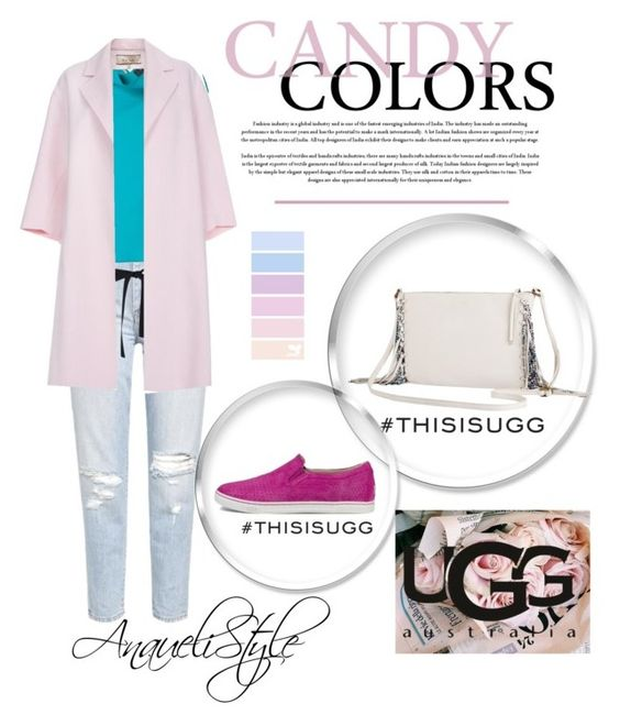 """Candy Pastels"" by anaueli on Polyvore featuring мода, Roland Mouret, Paul Smith и UGG Australia"