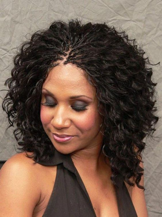 Micro Braids Hairstyles                                                                                                                                                                                 More #bestbraidedhairstyles