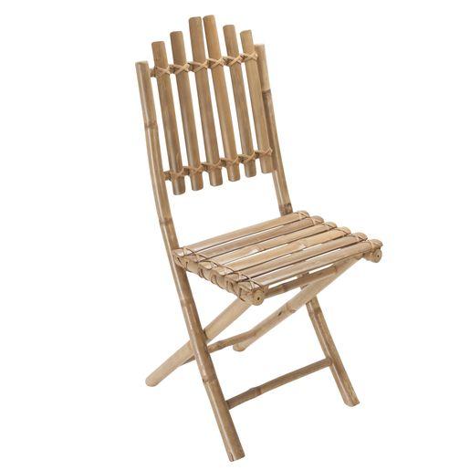 Detendez Vous Dans Un Decor Exotique Grace A Cette Chaise Pliante Bambou Pliante Elle Transformera Votre Terrasse Ou Votre Balc Chaise Pliante Chaise Bambou