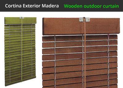 cortinas alicantinas alicantinas de de exterior de madera ventanas puertas outdoor wood windows