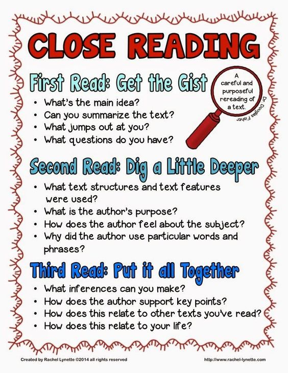 Close reading - here is a fun little freebie to get you started or help you along the way.