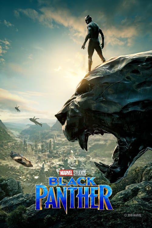 Black Panther 2018 Full Movies Hd Free Download Dvdrip Black Panther Movie Poster Marvel Cinematic Black Panther