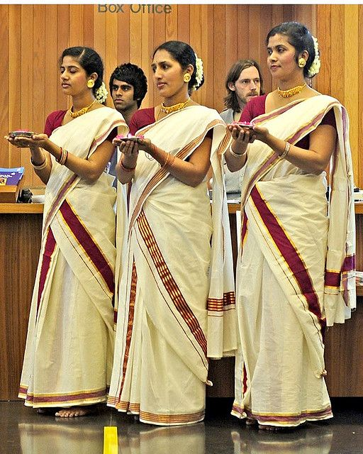 Simple Pin Kerala Women Dress On Pinterest