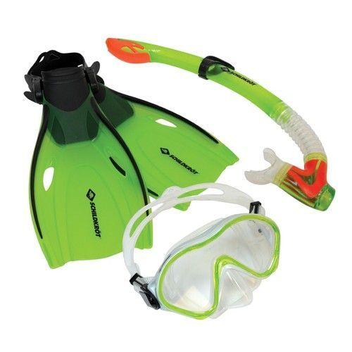 Children S Bermuda Snorkel Set With Goggles Snorkel Fins Snorkel Set Snorkeling Dove Set