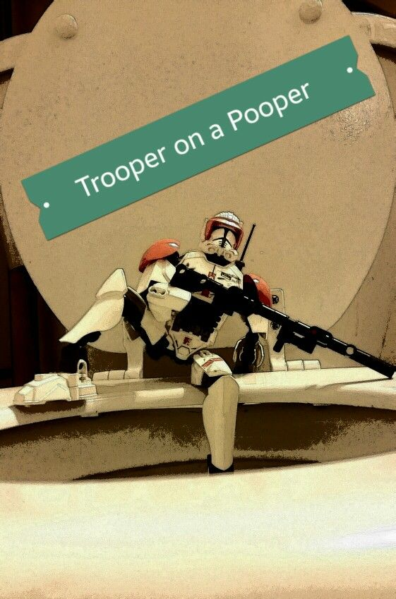 Trooper on a pooper new holiday tradition