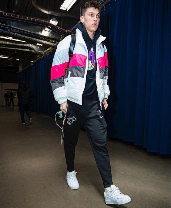 Tyler Herro In 2020 Miami Heat Mens Fashion Streetwear Rose Nba
