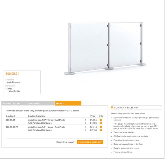 4 ft clear screens  comes in 8ft
