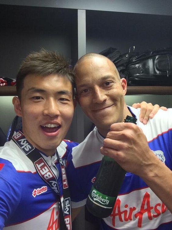Oh Bobby Zamora! Wembley 2014 with Yun-Suk Young - #QPR Quiz  - #QPR