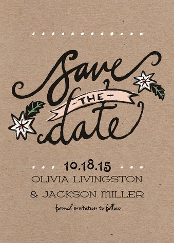 Save the Date Photo Cards | Simply to Impress