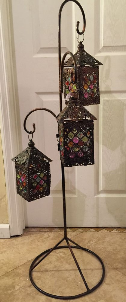 floor lanterns caravan and lantern diy on pinterest