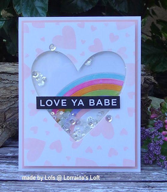 Simon Says Stamp Rainbow Heart Rainbow Card Valentine Love Cards Inspirational Cards