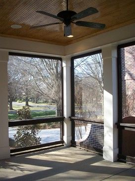 Screen Porch - traditional - porch - charlotte - by Hickman Construction Company, Inc.