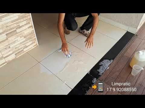 Como limpar porcelanato fosco encardido