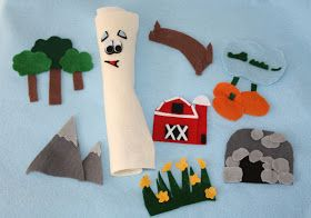 Kenna's Felt Forest: I'm the Map, I'm the Map, I'm the Map!