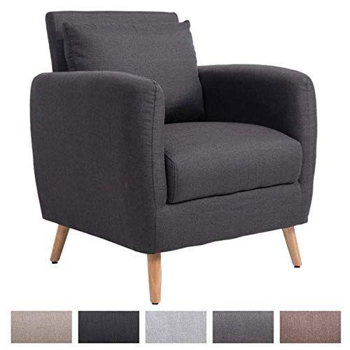 Clp Fauteuil De Salon Tilgard En Tissu I Fauteuil Confortable