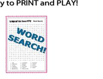 Girl Scout Mystery Word Search!