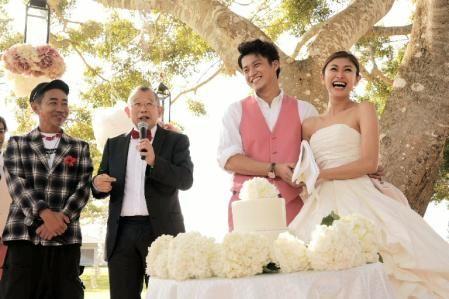 小栗旬と山田優の結婚式の様子