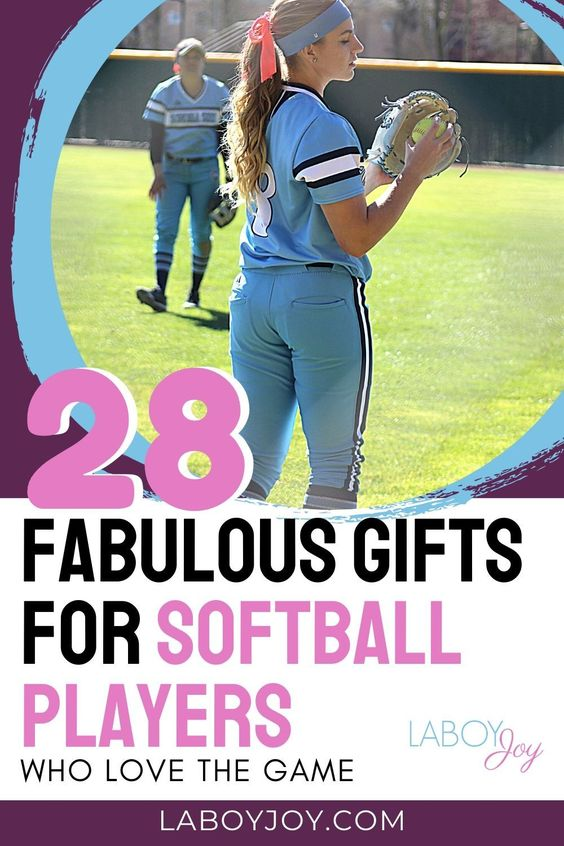28 Fabulous Gifts For Softball Players Who Love The Game In 2020 Softball Players Softball Softball Room