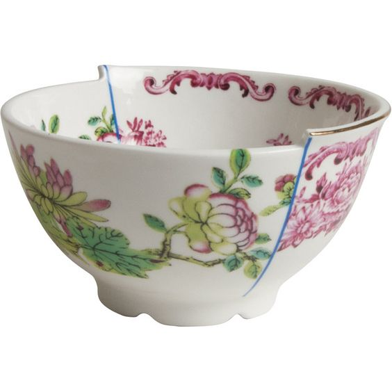 Seletti Hybrid Olinda Fruit Bowl ($46) ❤ liked on Polyvore featuring home, kitchen & dining, serveware, bone china and seletti