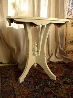 Eastlake Parlor Table...another piece that I am working on from my sister-in-law