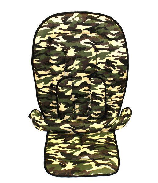"""4tlg.+Sitzauflage+für+Bugaboo+""""+Camouflage+""""+von+StilArt+auf+DaWanda.com"""