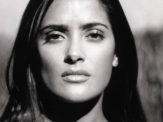 Salma. What a beautiful face.