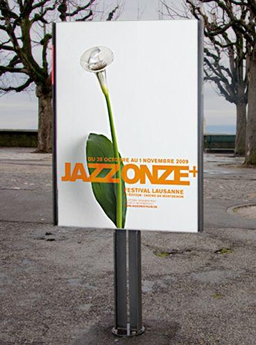adv / festival jazz poster