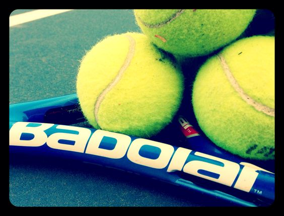 My racquet! #Babolat