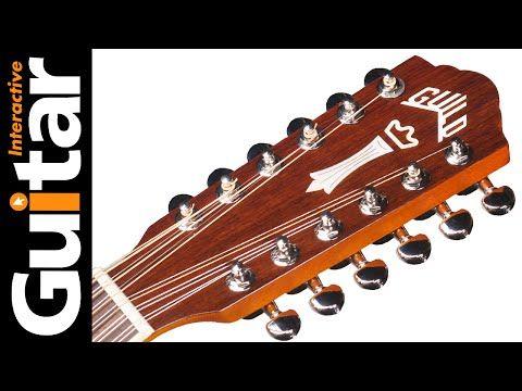 Guild F1512e Acoustic Guitar Review Guitar Interactive Youtube Guitar Reviews Acoustic Guitar Guitar